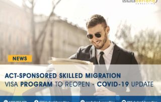 ACT-Sponsored Skilled Migration visa Program to Reopen - COVID-19 Update