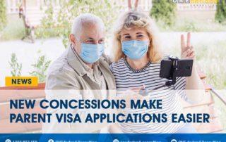 2021 New concessions make parent visa applications easier