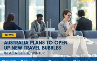 Australia Plans to Open Up New Travel Bubbles in Asia by the Winter