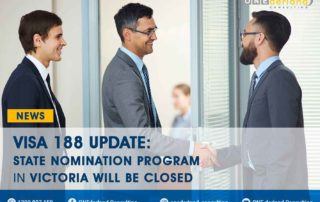 Victoria Government will close 188 Visa Nomination Program by May 2021