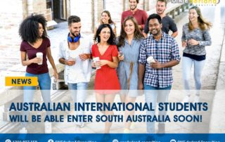 Breaking News! International Students can Return to South Australia in a Short Time!