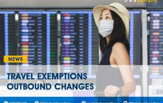 COVID-19 UPDATE: Changes on Travel Exemptions Outbound